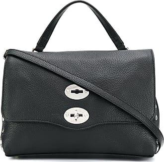 Zanellato Postina studded tote bag - Black