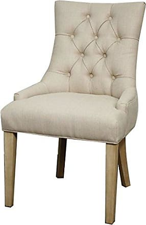 New Pacific Direct 358336-19 Nicole Fabric Dining Chair Furniture, Sand