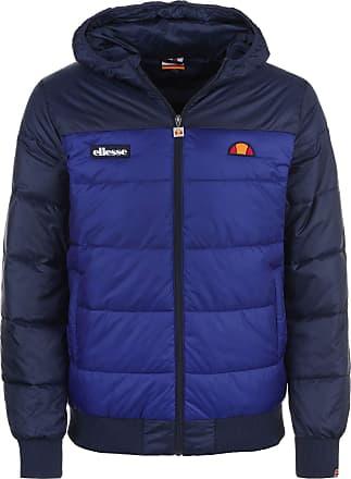 Ellesse Brenta Padded Zip Hooded Blue Jacket S