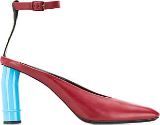 Nina Ricci Sapato com salto esculpido - Vermelho