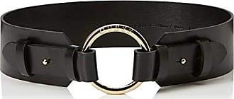 2c94be9c08 Guess Metal Ring Belt, Ceinture Femme, Noir (Jet Black A996 Jblk),