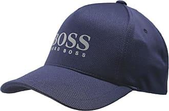 BOSS Mens Textured Logo Baseball Cap Navy One Size