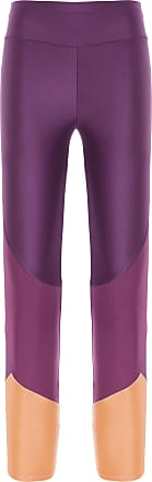 Body for Sure Calça Legging Recortes Cropped Body For Sure - Roxo