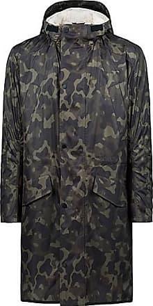 3406301613a0 HUGO BOSS Manteau à imprimé camouflage avec doublure amovible imitation  peau de mouton499.00