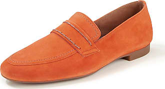 Paul Green Kidskin suede loafers Paul Green orange