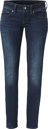 G-Star Jean Midge Saddle Mid Straight bleu
