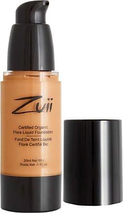 Zuii Organic Liquid Foundation Olive Tan 202 30 ml