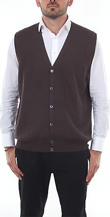 Barba Gilet in maglia Marrone