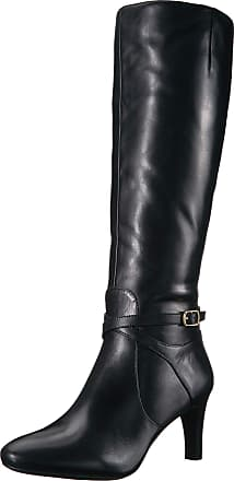 Lauren Ralph Lauren Lauren by Ralph Lauren Womens Elberta Fashion Boot, Black, 7.5 UK