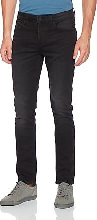 Only & Sons Mens Onsloom Black Jog 7451 Pk Noos Slim Jeans, W33/L32