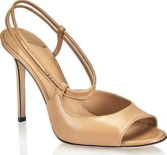 Tamara Mellon Nouvelle Honey Capretto Sandals, Size - 39.5