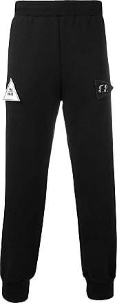 Gosha Rubchinskiy patch-detail sweatpants - Black
