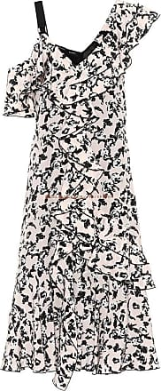 Proenza Schouler Printed silk crêpe de chine dress