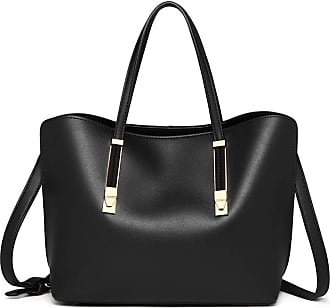Quirk Soft Leather Look Handbag - Black