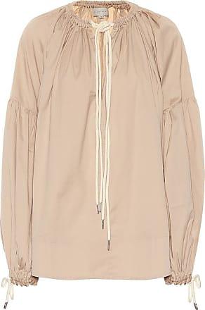 Lee Mathews Elsie cotton-blend top