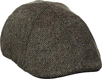 Levi's Mens Two-Tone Heathered Ivy Hat, Brown/ Khaki, Small/Medium