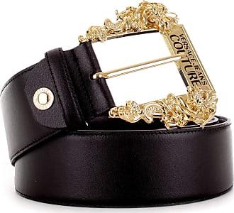 Versace Cintura Jeans Couture H25 D8VVBF01 71447 899 nero 105 cm