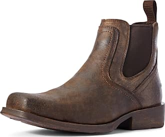 Ariat Mens Midtown Rambler Boots in Stone, D Medium Width, Size 7.5, by Ariat