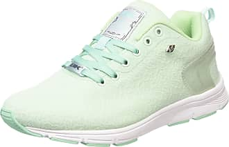 a885855b7b8c6 British Knights Womens Jump Low-Top Sneakers Green Size  7