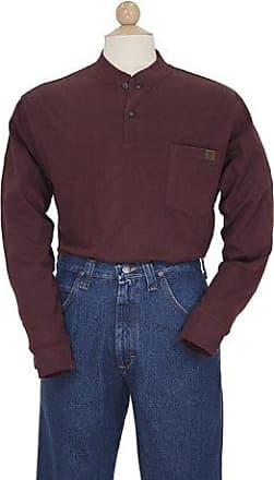 9007f1b1b8b1 Wrangler RIGGS WORKWEAR by Wrangler Mens Big and Tall Long Sleeve  Henley,Burgundy,3X