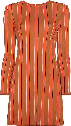 5447470b18e63f Simon Miller Capo Striped longsleeved tunic - Orange