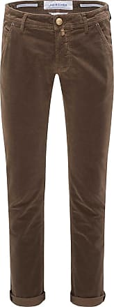 Jacob Cohen Fustagno-Hose J613 Comfort Slim Fit braun