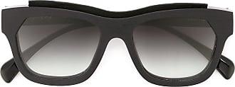 Marsèll Óculos de sol quadrados com lentes degradê - Preto