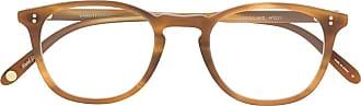 Garrett Leight Armação de óculos Kinney - Marrom