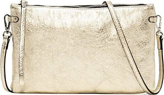 Gianni Chiarini Hermy Large Clutch Bag - Gold - One size