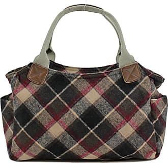 Your Dezire Womens Designer Office Tweed Tote Bag Ladies Shoulder Handbag Work New Black