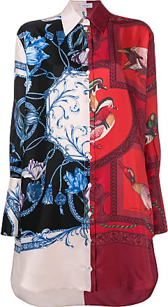 Salvatore Ferragamo Elizabeth print shirt dress - Red