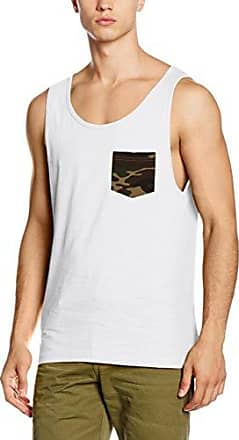 Urban Classics Contrast Pocket Jersey Big Tank Camiseta sin Mangas para Hombre
