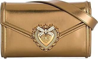 Dolce & Gabbana Pochete Sacred Heart - Dourado