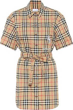 Burberry Vintage Check cotton minidress