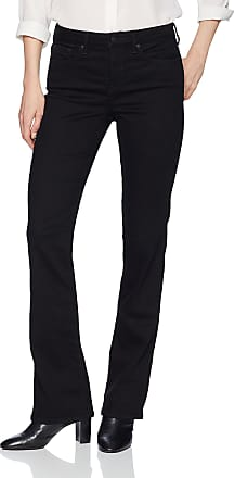 NYDJ womensBarbara Boot-Cut Jeans Jeans - Black