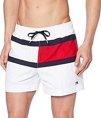 639ec9c9abf57 Tommy Hilfiger Medium Drawstring Pantalones Cortos Blanco (Pvh White 145)  Small para Hombre