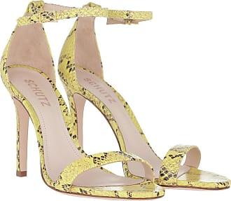 Schutz Sandals - High Heel Sandal Yellow - yellow - Sandals for ladies
