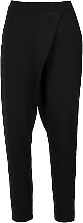 Uma Sintra wrap style trousers - Black