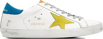 Golden Goose Superstar sneakers with yellow star