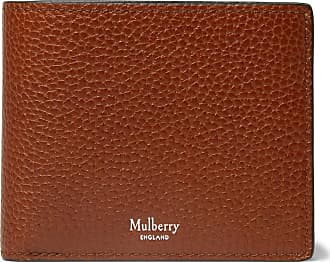Mulberry Full-grain Leather Billfold Wallet - Brown