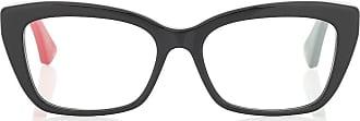 Gucci Rectangular acetate glasses