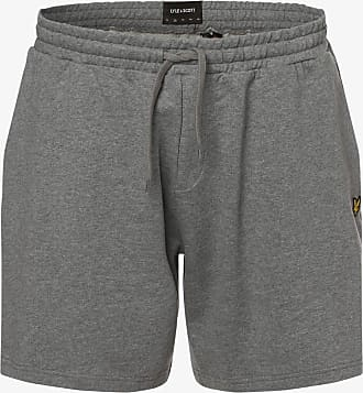 Lyle & Scott Herren Shorts - Große Größen grau