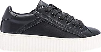 Truffle Cent 38 Black White Creepers Brogue Lace Up Platforms Ladies Shoes[Ladies UK 5 / EU 38]