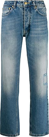 Victoria Beckham high waisted tapered jeans - Blue