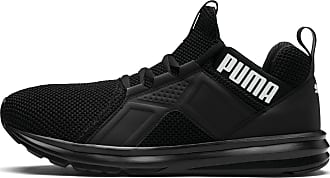 Puma Enzo Weave Mens Trainers, Black/White, size 7.5, Shoes