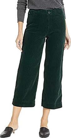 8bf5728fb9 AG - Adriano Goldschmied Womens Wale Cord Etta Wide Leg Crop, Verdant, 24
