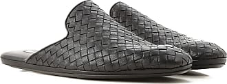 Bottega Veneta Sandals for Men On Sale, Black, Leather, 2017, 7.5 8