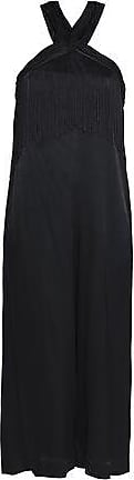 Rachel Zoe Rachel Zoe Woman Cropped Lace-trimmed Crepe Satin Jumpsuit Black Size 10