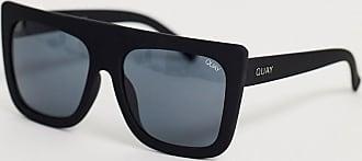 Weekday – Gate – Svarta fyrkantiga solglasögon