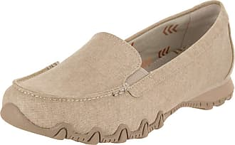 Skechers Relaxed Fit Bikers Hyphen Womens Slip On Loafers Natural 5